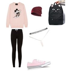 xavi by s-ling-yevenes on Polyvore featuring polyvore, fashion, style, Markus Lupfer, Converse, Comeco and Wet Seal