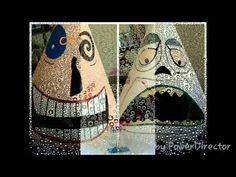 Oogie Boogie and Mayor Nightmare Before Christmas Halloween Costumes - YouTube