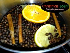 Everyone wants to know my secret at the holidays because the house smells so wonderful. Here it is!