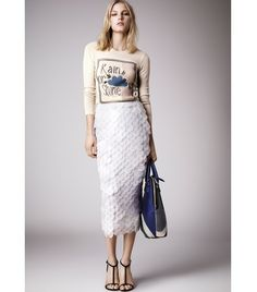 Burberry Prorsum Resort 2015 Fashion Show Collection: See the complete Burberry Prorsum Resort 2015 collection. Look 3 Fashion Mode, Look Fashion, Runway Fashion, High Fashion, Fashion Show, Womens Fashion, Fashion Design, Fashion Trends, Review Fashion