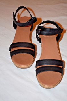 c0b20b6db6bf UGG Women s Elena Wedge Sandal size 5  fashion  clothing  shoes  accessories   womensshoes  sandals (ebay link)