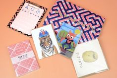 The Papergang is a monthly stationery subscription delivered straight to your door!