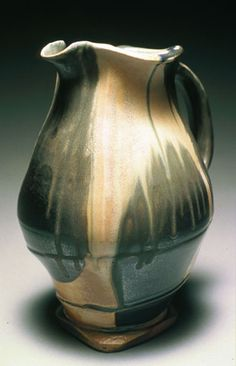 pine root pottery -salt fired pottery by Mark Peters