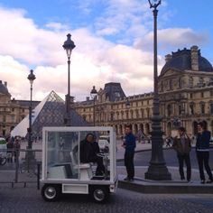 "The ""cube"" and the pyramide , Paris 2012 ..."