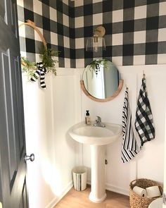 Three days to a new guest bathroom! I'm so pleased with how this little makeover turned out. I painted the walls, added faux board and…