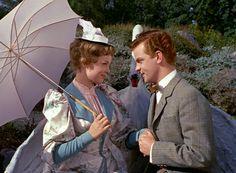 Ebbe Langberg og Ghita Nørby, i Charles tante fra 1959.