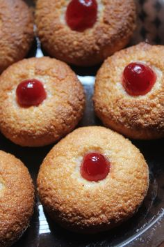 If you are in a hurry, worried that you dont have time to make anything for this christmas, don't you worry.I am giving you a delicious. Eggless Recipes, Eggless Baking, Coconut Recipes, Sweets Recipes, Cupcake Recipes, Baking Recipes, Cookie Recipes, Desserts, Coconut Buns