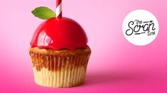 CANDY APPLE CUPCAKES - The Scran Line