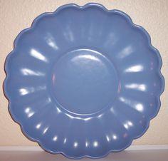 """California pottery 1930s Gladding McBean Rancho Ware 14"""" service plate"""