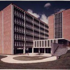 Photograph - Kodak Australasia Pty Ltd, Exterior View of Building 8, Head Office & Sales & Marketing at the Kodak Factory, Coburg, circa 1965