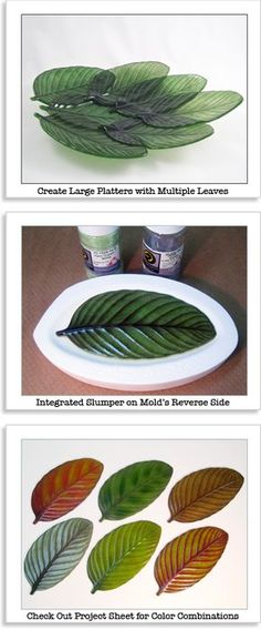 Glass Fusing leaf mold