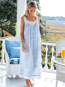 Womens sleepwear from classic brands like Lanz of Salzburg, Eileen West, and more. Our comfortable sleepwear for women provides comfort through every season. Cotton Nighties, Cotton Dresses, Night Gown Dress, Nightgown Pattern, Flannel Nightgown, Cute Lazy Outfits, Nightgowns For Women, Sleepwear Women, Loungewear