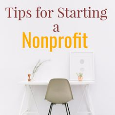 Tips for Starting a Nonprofit 501c3