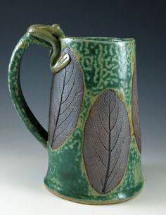 Large Handmade Ceramic Mug