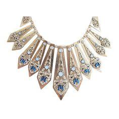 statement deco necklace £8