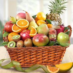 Abundance Of Tropical Fruits: Florida Fruit Gift Basket by Gift Baskets Etc