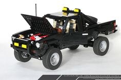 If you grew up watching the Back to the Future movies, chances are your dream car was at one point a dream truck – Marty McFly's 1985 Toyota SR5 Pickup (Hilux). LEGO ace Paul Kim knows what we're talking about.  That's why he built one himself using LEGO pieces, no instructions whatsoever, and a whole