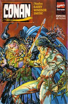 Conan Vs Rune by Barry Windsor-Smith, 1995