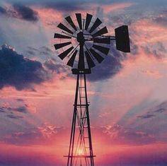 windmill silhouette