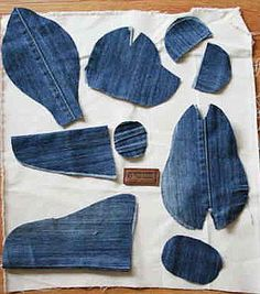 Wonderful DIY Upcycled Denim Teddy Bears | WonderfulDIY.com
