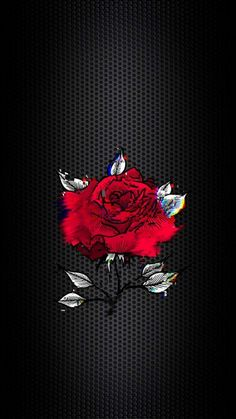Glitch Rose IPhone Wallpaper - IPhone Wallpapers