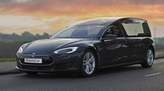 The Tesla Model S Hearse - Meet the First Electric Funeral Transport Vehicle