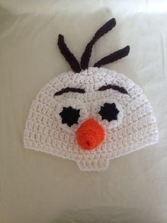 Olaf Frozen. SO cute! https://www.etsy.com/listing/197207132/olaf-crochet-hat