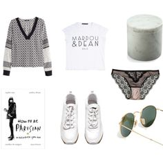 Birthday wishes II by odaviktoria on Polyvore featuring H&M, Ray-Ban and MARDOU & DEAN