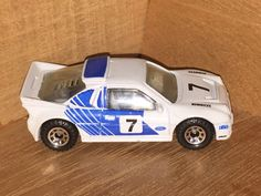 1/64 diecast car Matchbox Ford Escort RS Rally Leman Race metal car model car vintage car antique car toy car White Blue Christmas gift by ChasingToyCars on Etsy