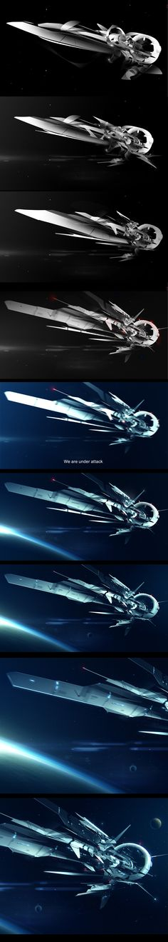 Making of Space journey by jamajurabaev on deviantART via cgpin.com