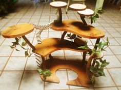 another tree house display idea