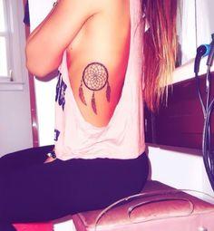 36 Meaningful Dreamcatcher Tattoo Designs