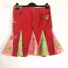 Créations Passion By Zou : Customisation vêtement: transformer un pantalon en...