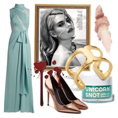 """""""Eloise for A. O'Donnell"""" by andyryan on Polyvore featuring Elie Saab, Marc, Maybelline, FCTRY, Tory Burch and Alexander Wang"""