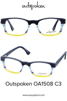 OUTSPOKEN OA1508 C3 Eyewear, Glasses, Easy, Men, Style, Swag, Eyeglasses, Eyeglasses, Stylus