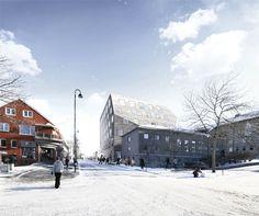 EFFEKT city hall . bodø #architecture
