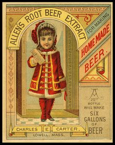 Charles E. Carter / Allen's Root Beer Extract | Sheaff : ephemera