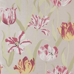 TULIPA CH9097/010 from Chivasso Favorite Things, Patterns, Colors, Ideas, Tulip, Searching, Block Prints, Pattern, Thoughts