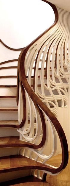 Staircase by atmos studio--never seen anything like this!