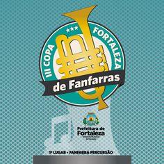 Logo Copa de Fanfarras para Prefeitura de Fortaleza