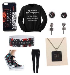 """""""Twenty One Pilots obsessed"""" by emo-kyleigh ❤ liked on Polyvore"""