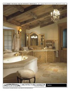 Huge tub? Huge Vanity? Every girls dream!  This Repin is intended for the design inspiration of clients and friends of https://StebnitzBuilders.com