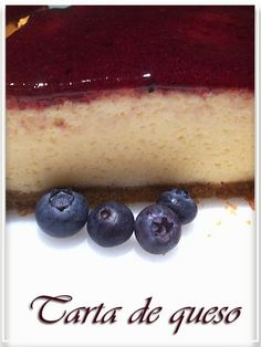 TARTA DE QUESO ESPONJOSA/CHEESECAKE : Mis dulces preferidos