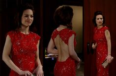 I'm a Soap Fan: Elizabeth Webber's Red Dress at the Nurses' Ball - General Hospital, Season 52, Episode 28, 5/08/14 #GH #GeneralHospital