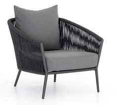 Darley Outdoor Lounge Chair | Pottery Barn