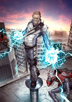 inFAMOUS by *PatrickBrown on deviantART