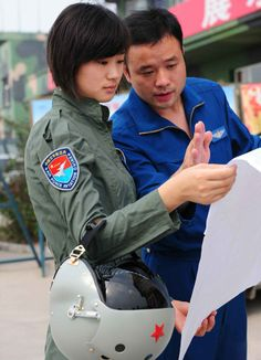 Chinese Female Fighter Pilots