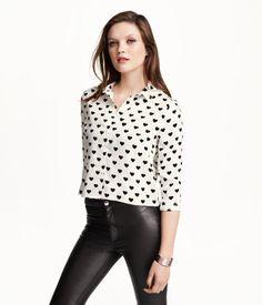 H&M Lyhyt paita 14,99