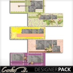 Digital Scrapbooking Kits | 1 2 3 Facebook Covers-(carolnb) | Babies, Family, Friends, Nature, Seasons, Weddings | MyMemories