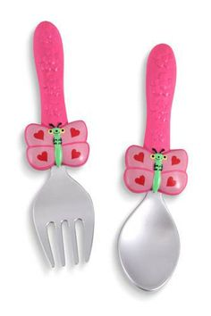 Reduced to $2.99 - Bella Butterfly Fork and Spoon
